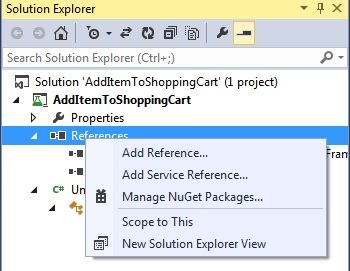 C# Manage NuGet Package